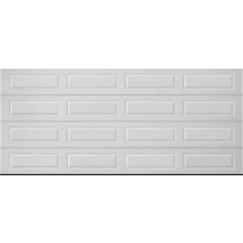 16 X 7 Garage Door Lowes by Shop Pella Traditional Series 16 Ft X 7 Ft Insulated White