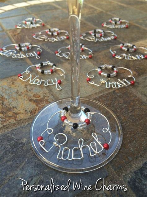 Just Wondering Are Personalised Jets The New Must Accessory by Best 25 Wine Charms Ideas On Wine Glass