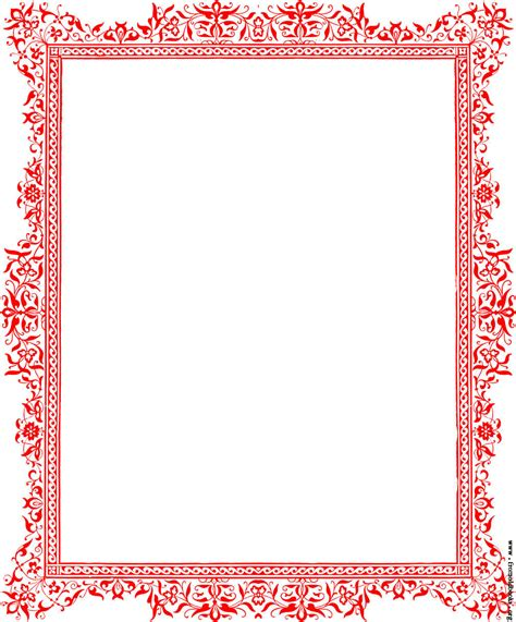 Decorative Page Borders free coloring pages of decorative borders