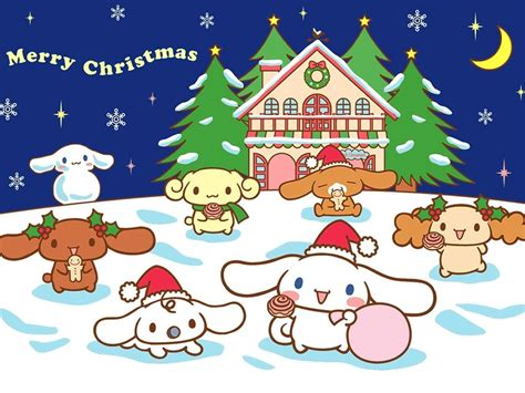 hello kitty christmas wallpaper desktop hello kitty christmas backgrounds wallpaper cave