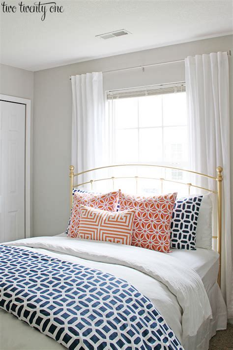 coral and navy bedroom navy and coral bedroom