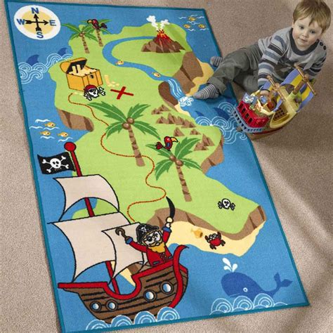 Pirate Rugs by Matrix Kiddy Pirate Map Rug Free Uk Delivery The Rug