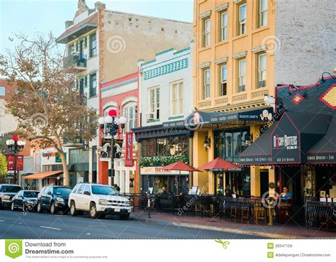 L District San Diego by Gasl Historic District San Diego California Editorial Stock Image Image 28347159