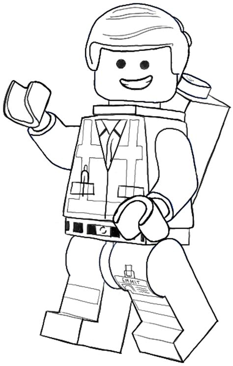 coloring pages lego movie emmet how to draw emmet from the lego movie and lego minifigures