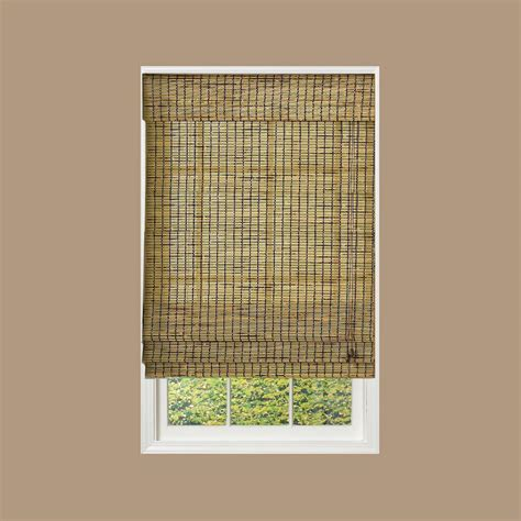 How To Make L Shades At Home With Paper - radiance burnt bamboo shade 58 in w x 64 in l
