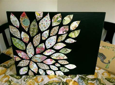 mod podge acrylic paint on canvas mod podge canvas mod podged