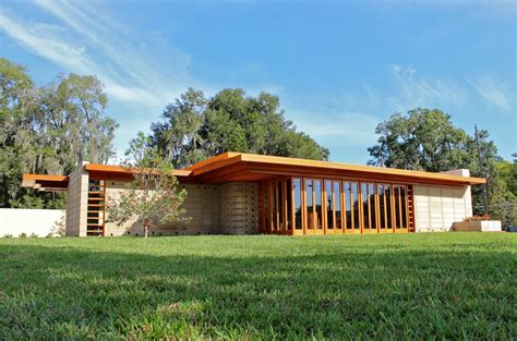 usonian house usonian house at florida southern college architect magazine mesick cohen wilson baker