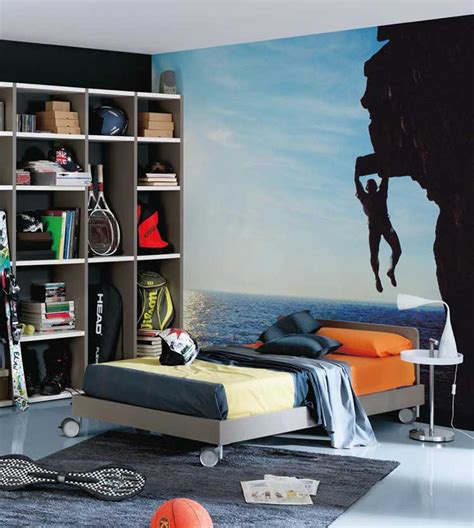 Cool Wall Designs For Bedrooms Cool Wall Sticker Room Design Interior Design Ideas
