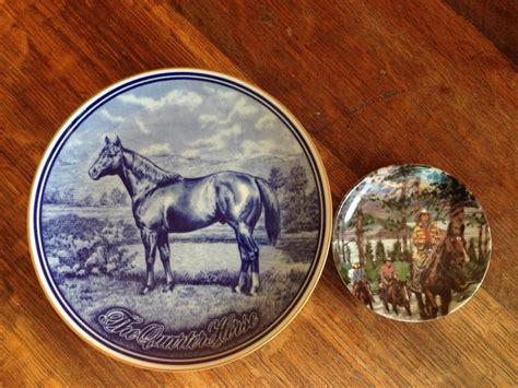 Decorative Quarter by Quarter Decorative Plate Avon Collector Plate