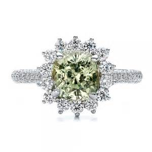 green engagement rings custom green sapphire and engagement ring 100111 bellevue seattle joseph jewelry