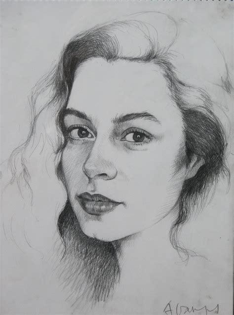 imagenes de retratos a lapiz retratos av retratos dibujos dise 241 o de amparo vargas