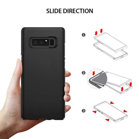 Ringke Slim Galaxy Note 8 rearth ringke slim samsung galaxy note 8 black