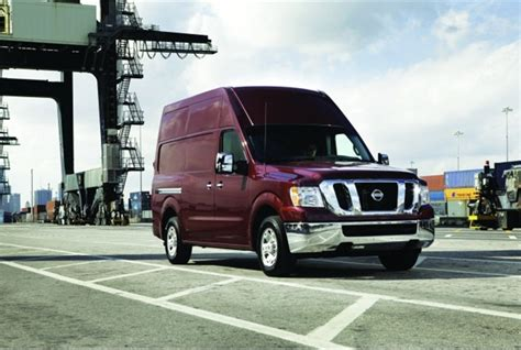 nissan cargo van 4x4 new van truck products to re energize the upfit market