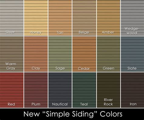 vinyl siding colors houses