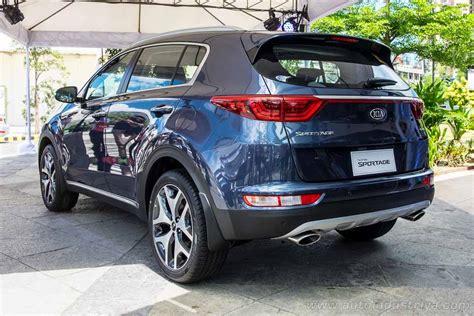 Kia Sportage Price Philippines 2016 Kia Sportage Launched In The Philippines Auto