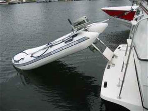 houseboat dinghy davits - Dinghy Houseboat