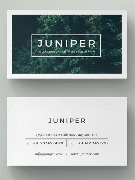 Minimalistic Business Card Template Free by Minimalist Business Cards Thelayerfund