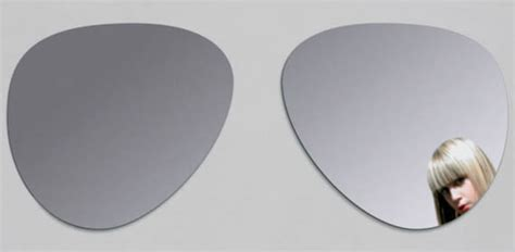 cool mirror aviator sunglasses wall mirror cool material