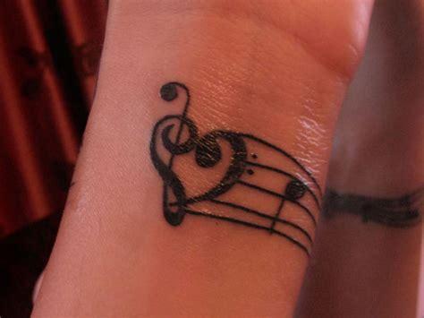 30 superb treble clef tattoo designs
