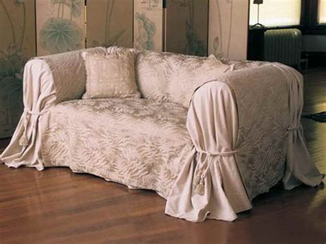 How To Make A Sofa Slip Cover by Furniture Cheap Slipcovers Give A New Look Slip