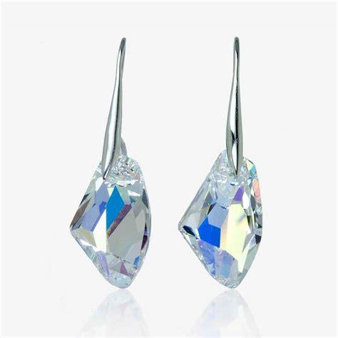 Swarovski Earrings esmeralda earrings made with swarovski 174 crystals