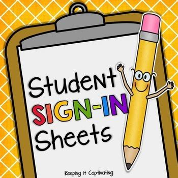 student sign in sheet student sign in sheets editable by keeping it