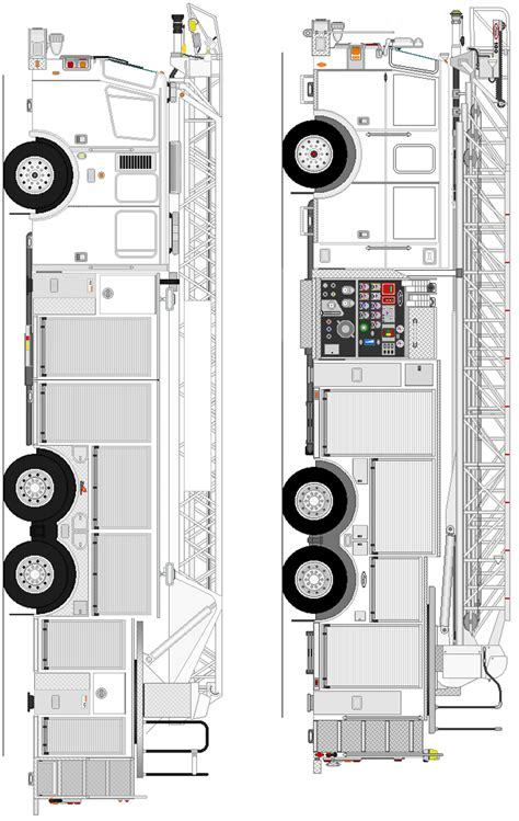ladder truck coloring page ladder truck coloring page