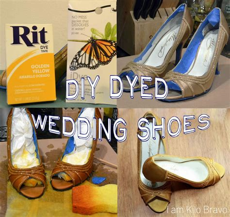 Wedding Shoes To Dye by I Am Kilo Bravo Wedding Shoes To Dye For