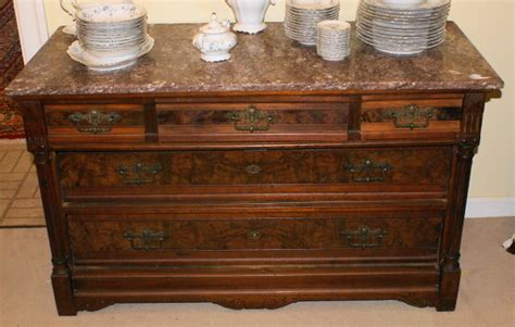 Pictures Of Antique Dressers by Marble Top Eastlake Walnut Dresser For Sale Antiques