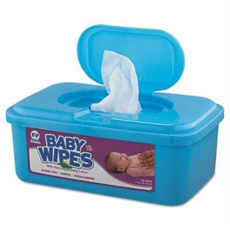 Baby Wipes royal paper baby wipes unscented 12 tubs rpp rpbwu 80