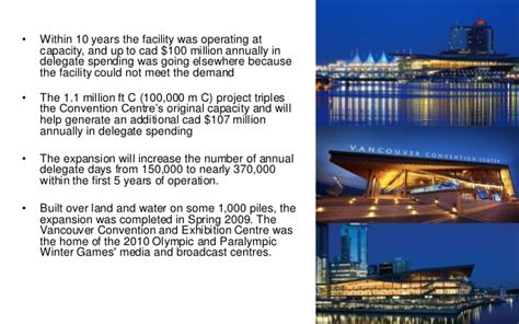 vancouver convention bureau vancouver convention centre