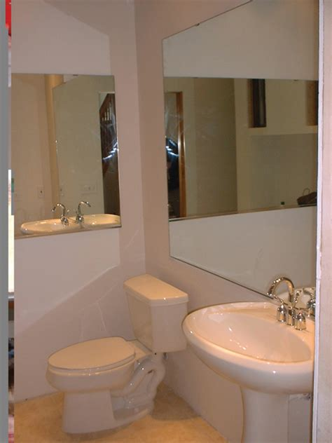 Bathroom Mirror Installation Install Bathroom Mirror How To Install A Bathroom Mirror How Tos Diy How To Install A