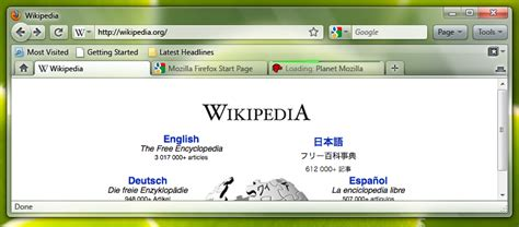 firefox ui themes firefox 3 7 changes looks for windows 7 and vista