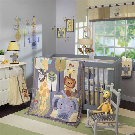 lambs and ivy crib bedding lambs ivy cornelius 4 piece crib bedding set