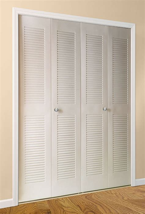 Louvered Bifold Closet Doors Sizes Louver Bifold Daiek Door Systems