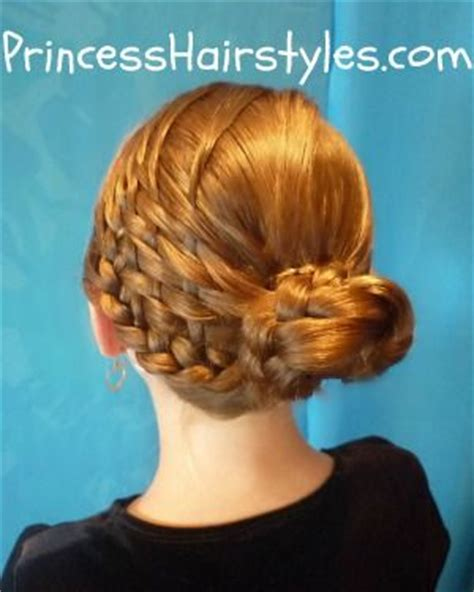 updos using basket weave technique basket weave bun hairstyle tutorial this mom is so amazing
