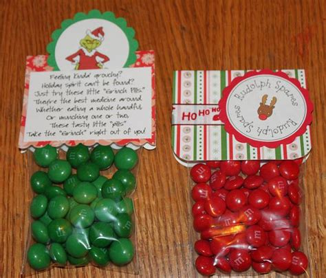 grinch pills rudolph spares cute christmas gift idea