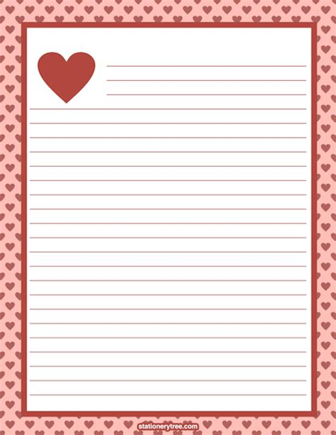 printable valentine paper valentine stationery preview png png image 470 215 608