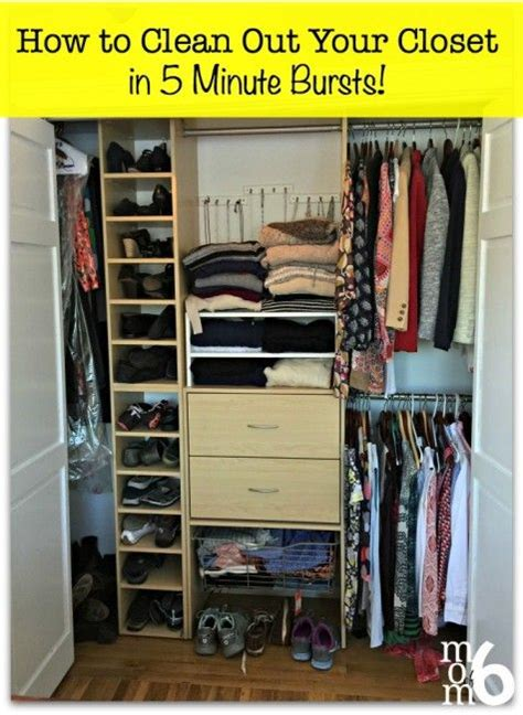 how to clean and organize your closet how to clean out your closet in 5 minute bursts closet