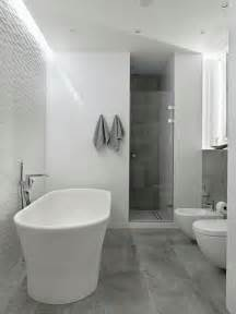 Modern White Bathroom Floor Tile Modern Bathroom Floor Tiles Concrete Look Shower