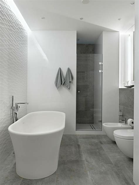Modern Bathroom Floor Tile Ideas Modern Bathroom Floor Tiles Concrete Look Shower Bathroom Pinterest Concrete Modern And House
