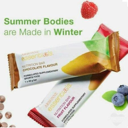 Arbonne Detox Protein Bars by Arbonne S Nutrition Bars In Fruit And Chocolate Find