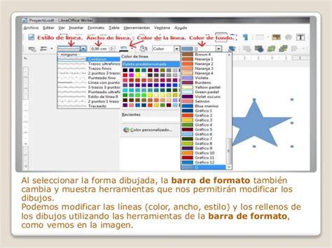 seleccionar varias imagenes libreoffice formas y dibujos en libreoffice writer