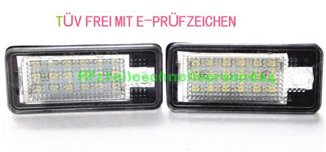 Audi Rs4 Bj 2000 by Led Kennzeichenbeleuchtung T 220 V Frei Audi A4 S4 Rs4 Bj 2000