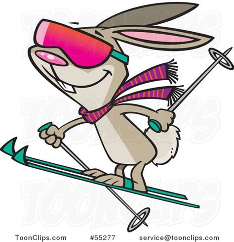 Ro N St Piyama Rabbit skiing bunny rabbit 55277 by leishman