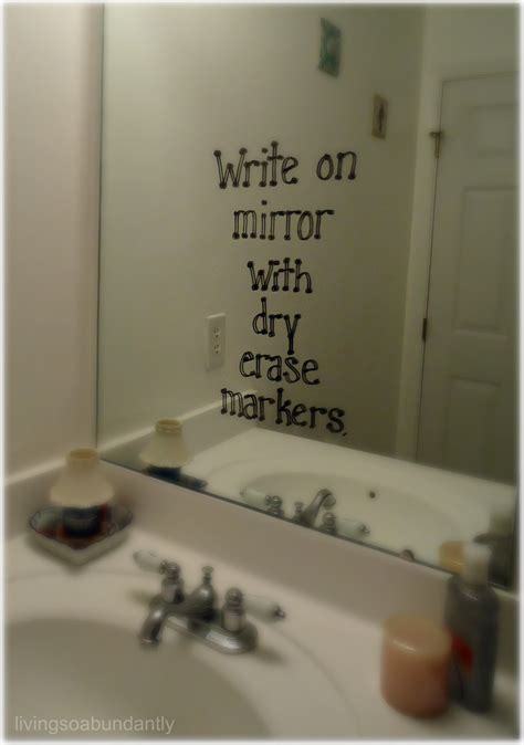 bathroom mirror quotes random j and m ranch