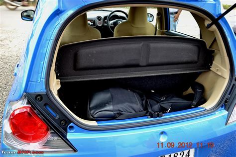 honda amaze boot space boot space of honda brio in litres
