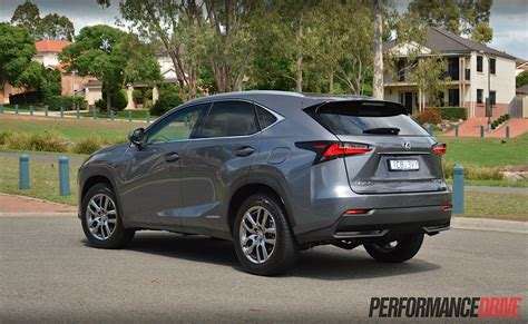 lexus luxury 2015 lexus nx 300h luxury review video performancedrive