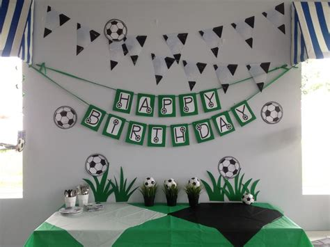 soccer themed birthday decorations 158 best soccer birthday images on