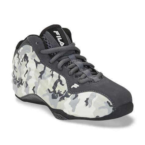 camouflage basketball shoes fila boy s vindicator grey camouflage high top basketball